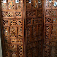 Wooden Accordian Wall-Great for Photo Booth