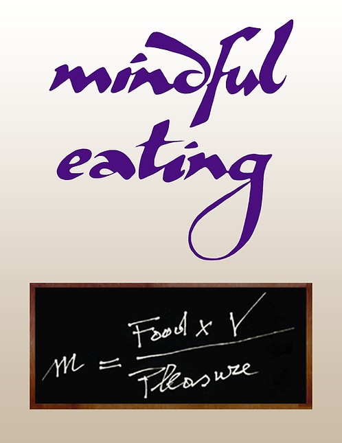 Mindful Eating  -  The inner game of chewing  - 1.20 hours
