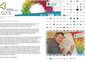 CLT-S NV innoveert en ondersteund Circulair Bouwen.