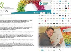 CLT-S NV innoveert en ondersteunt Circulair Bouwen.