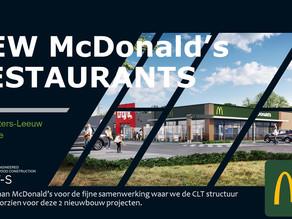 New McDonald's restaurants!