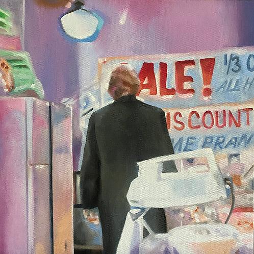 """Sale"" Original 12"" x 12"""