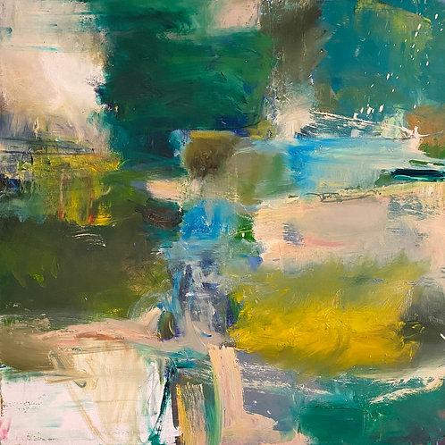 """Untitled (Turner)"", Original 36"" x 36"""