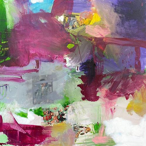 """Untitled (91)"", Original 36"" x 36"""