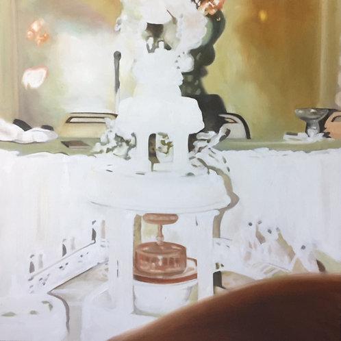 """""""The Wedding Cake"""", Original 20"""" x 20"""""""