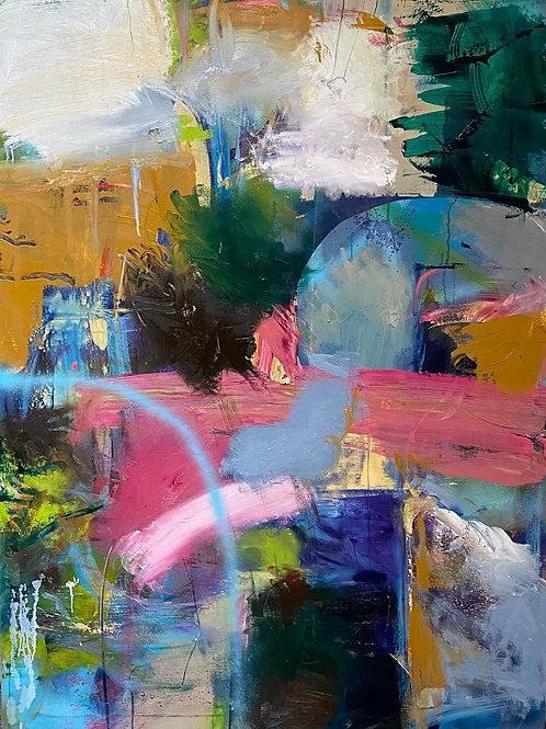"Untitled (104), Original, 48"" x 36"""