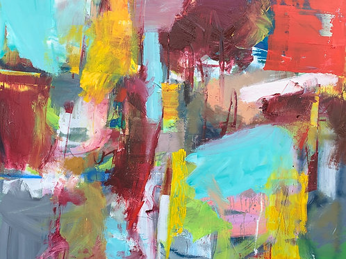 "Untitled (88)"", Original 60"" x 72"""