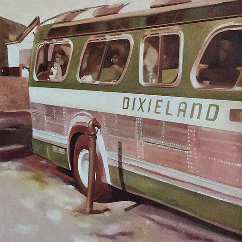 """""""Dixieland Express"""", Original 20"""" x 20"""""""