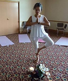 Tree Pose - Serenity Yoga Retreat 2015