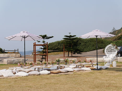 The Haven Terrigal Picnic dining.JPG