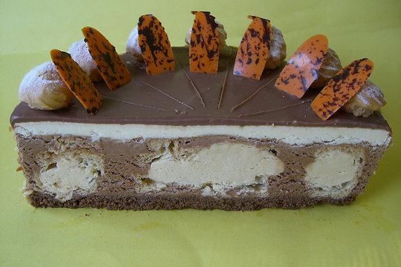 Schokovanille-Torte 14 Stück