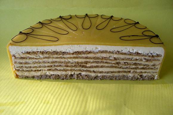 Nusskaramell-Torte 14 Stück