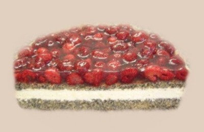 Himbeer-Mohn-Torte 20 Stück