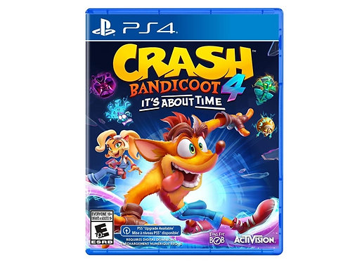 Crash Bandicoot - It's About Time PS4