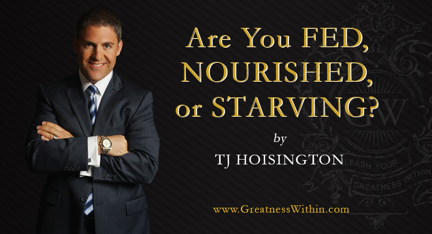 Are you starving podcast with TJ Hoisington