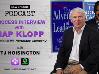 Success Interview with Hap Klopp, Founder of the Northface Company