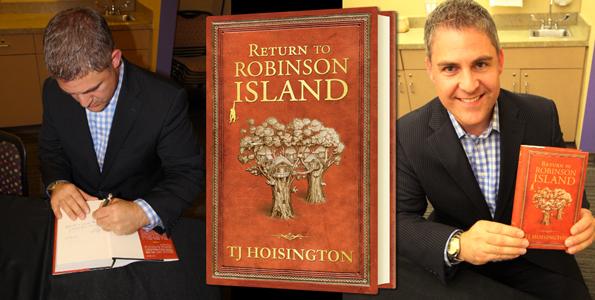 TJ Hoisington book signing