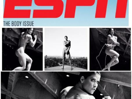 ESPN Body Issue: Danyelle Wolf is Skinny Dip Ready