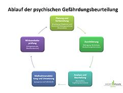 Ablauf GB Psyche - Gefährdungsbeurteilun