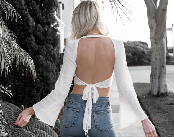 Bell Sleeves & Back Details