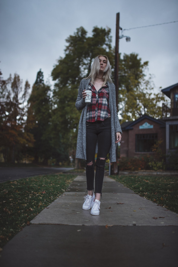 Plaid, Sweaters, & Sneakers