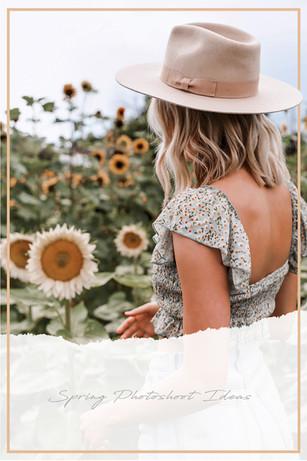 Sunflower Fields Forever: Photoshoot Ideas