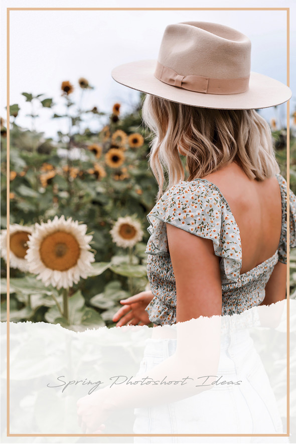 Sunflower Fields Forever: Photoshoot Ideas