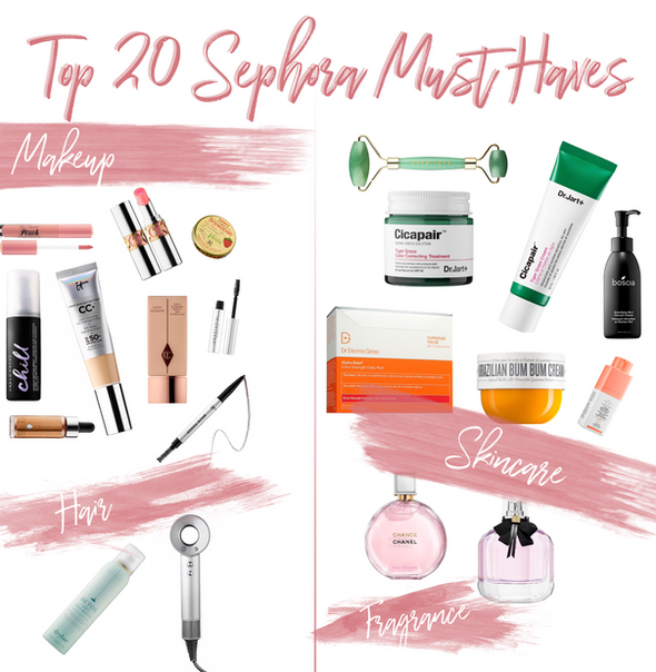 Top 20 Sephora Sale Items