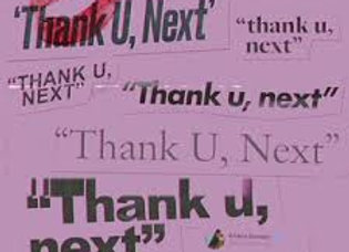 thank u, next - Ariana Grande