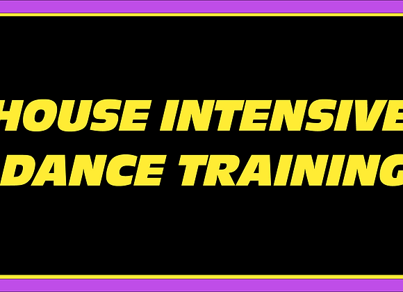 House Dance Intensive Training (For Dance Fitness Instructors)