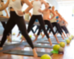 High Intensity Training at Barre class