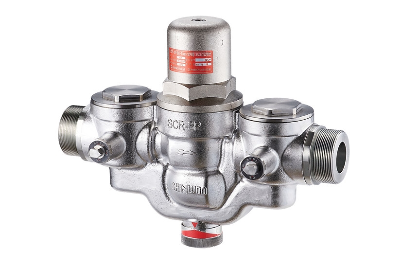 Stainless Steel Multifunctional PRV with Built-in Bypass