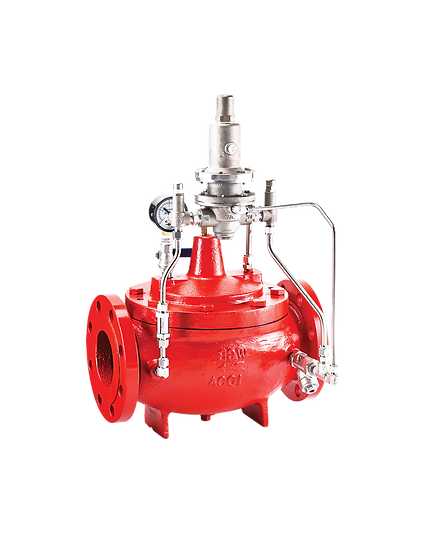 Pilot Operated Valve - System Pressure Relief Valve (Fire Protection)