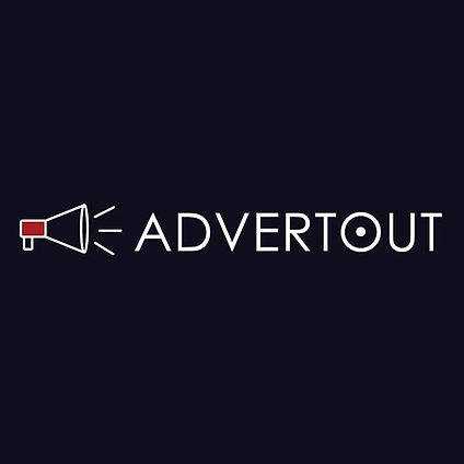 Advertout Company Official Logo