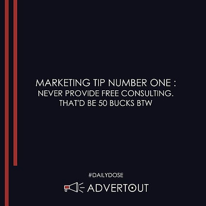 Funny Marketing Tips By Advertout