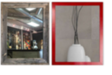 Custom Picture Framing, Mirrors