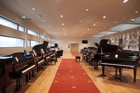 Showroom Pianos Hanlet