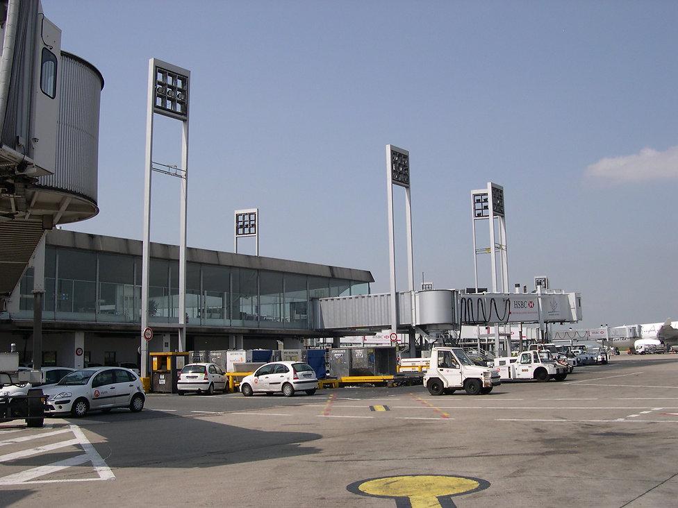 Aéroport Charles de Gaulle T1 - Passerelle A380