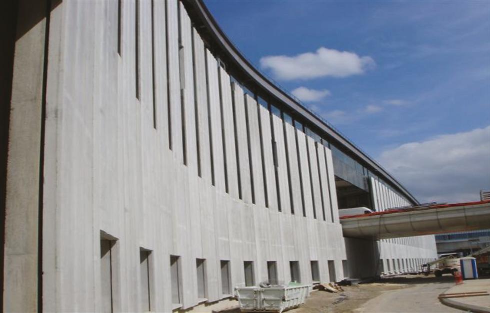 Aéroport Charles de Gaulle - Module P