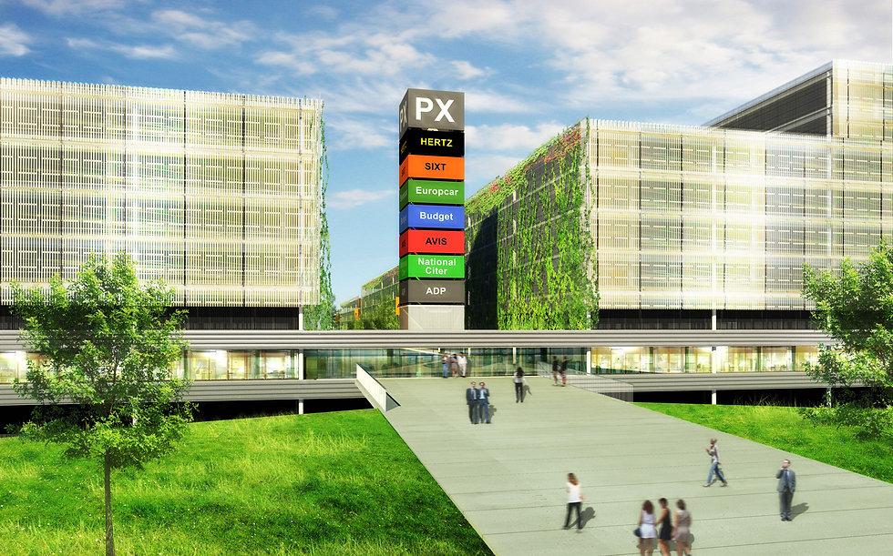 Aéroport Charles de Gaulle - Parc PX BATo