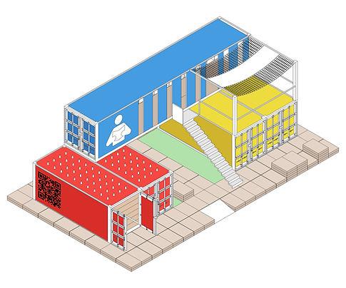Maison Tatami - Petit temple laïque d'architecture participative