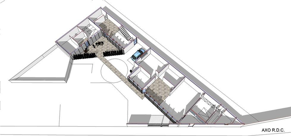 Transformation d'un hangar en 3 logements