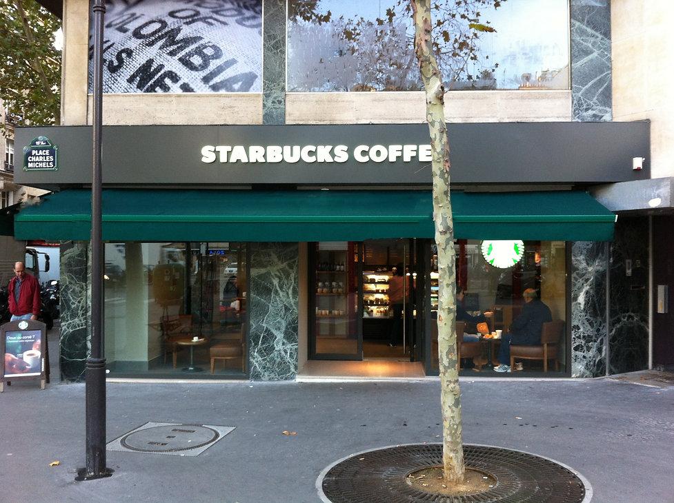 Starbucks - Place Charles Michel