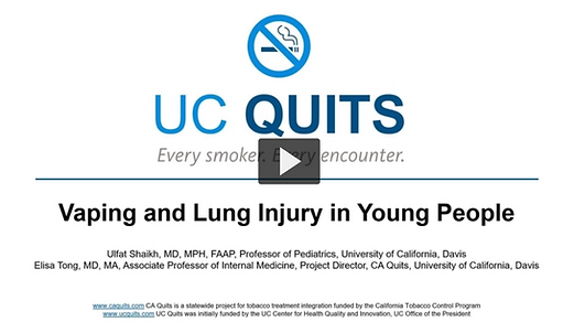 Module #6-Vaping and Lung Injury in Youn