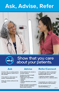 Older female doctor talking to female patient