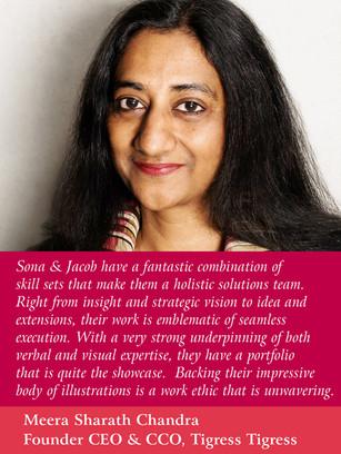 Meera SC, CEO, Tigress Tigress