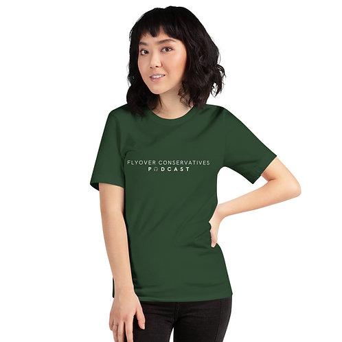 Flyover Conservatives Podcast Unisex T-Shirt