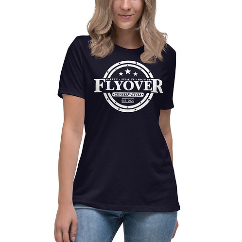 Classic Flyover Brand Women's Relaxed T-Shirt