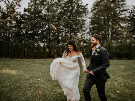 Wedding: Alexis + Matt // Sycamore Farms