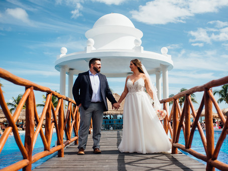 Destination Wedding: Chelsey + Robert // Now Sapphire Rivera Cancun